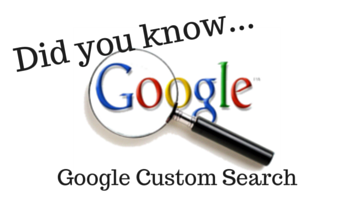 how to create a custom search engine