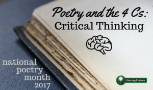 poetry month critical thinking