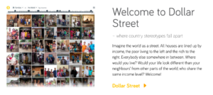 dollar street welcome